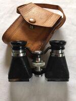 Vintage Ofuna  Binoculars 3x10 w/ Leather Case