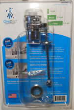 Lot of 2 New One2tap Flow Control Aerator Chrome Water Saving Sink Valves