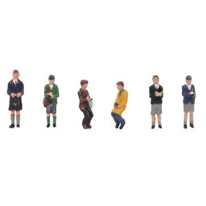 BACHMANN SCENECRAFT 36-401 TRAINSPOTTERS OO GAUGE 1:76 SCALE PACK OF 6