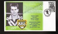 PAUL HARRAGON NEWCASTLE KNIGHTS ARL CAPTAINS RUGBY COV