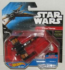 Star Wars Poe's X-Wing Fighter Hot Wheels Diecast Vehicle NEW