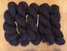 Alpaca Merino Dark Brown Yarn - 5 skeins