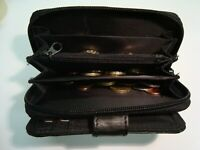 Soft Leather Ladies Purse Wallet with Large Coin Pocket RFID Protected