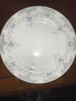 Vintage Imperial China Seville 40 piece #5303 FINE CHINA W Dalton Blue Roses