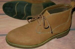 MENS DR SCHOLL'S ANKLE CLUTCH CHUKKA BOOTS BROWN SIZE 9