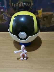 Pokeball ultra ball with random figure