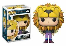 Funko POP! Harry Potter: Luna Lovegood (Lion Head) - Movie Vinyl Figure 47 NEW