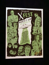 THE X-FILES X-FEST EXCLUSIVE POSTER Numbered!
