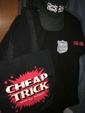 Cheap Trick - Fan Club Gift Pack - Dream Police Shirt, Hat, Bag, Bookmark