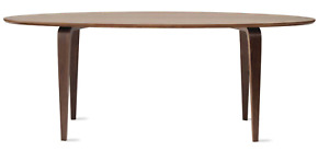 2018 Cherner Oval Classic Walnut 84 x 38 Dining Table