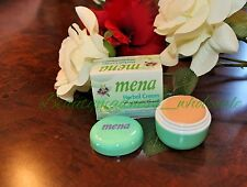 1 MENA HERBAL CREAM White Mineral Renewal Reveal Healthier Skin Whitening Cream