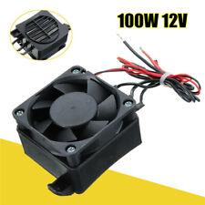 100W 12V DC PTC Fan Heater Constant Temperature Incubator Hot Space
