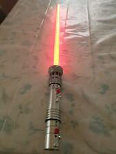 Star Wars Black Series Darth Maul FX Lightsaber, Dark Spots, READ