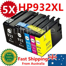 5X HP 932XL 933XL Ink Cartridge For HP Officejet 6100 6600 6700 7610 7612 GIX85A
