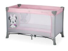 New Pink Minnie Mouse Portable Baby Travel Cot Bed Crib Playpen Play Pen Cotbed