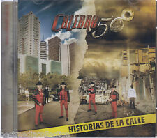 SEALED Calibre 50 CD NEW Historias De La Calle SONY MUSIC 14 Tracks USA Seller !