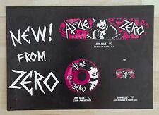 JAMIE THOMAS ZERO JON ALLIE 77 ADICTS TRIBUTE SKATEBOARD LARGE POSTCARD