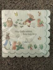 Peter Rabbit Beatrix Potter Birthday Party Baby Shower Large Napkins x 20