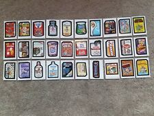 2018 Topps On Demand Wacky Packages Old School 7 (30) Sticker Set 318 Made RARE