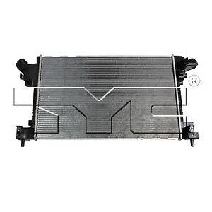 TYC 13271 Radiator Assy for Chevrolet Volt 1.4L L4 2011-2015 Models