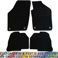 Volkswagen VW Polo MK IV 2004-2009 Fully Tailored 4 Piece Car Mat Set & 4 Clips