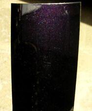 Peinture carrosserie:0,5L base à vernir solvant Noir nacré violet prêt à emploi