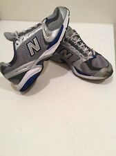 New Balance Men's Classic 719  Grey/Blue Running Shoes Grey Size 10
