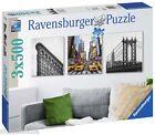 RAVENSBURGER 19923 IMPRESIONES DE NUEVA YORK Puzzle 3 x 500 Piezas Pieces JIGSAW