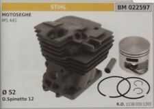 11380201201 Cylinder and Piston Complete Stihl Chainsaw Ms 441 Ø 52
