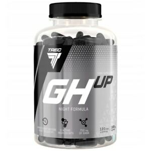 TREC GH UP Night Formula 120 Caps HORMONE BOOSTER LEAN MUSCLE MASS BUILDER NEW!