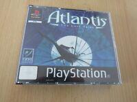 Atlantis The Lost Tales PS1 PlayStation 1 PAL