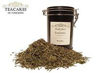 Sostenere Verde Sencha LOOSE LEAF TEA 100g REGALO Caddy Tè qualità best value