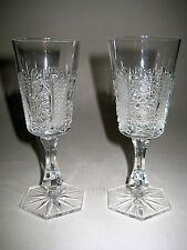 zwei Gläser Bleikristall geschliffen sehr hochwertig Baccara ?