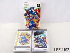 Rockman + X Value Pack PSP Japanese Import LE Mega Man Irregular Hunter Japan A