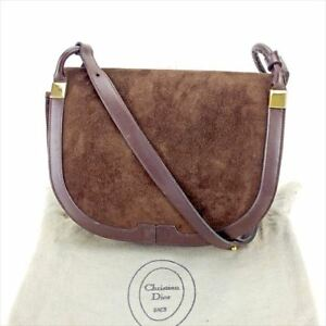 Dior Shoulder bag Brown Woman unisex Authentic Used T5832