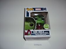 She-Hulk (Lawyer)  Marvel  # 301 Pop Figure 2018 Spring Convention  Exclusive