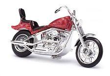 Busch 40153 Amerikanisches Motorrad, Rot-Metallic  H0 1:87 suberb detail