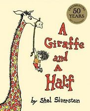 A Giraffe and a Half by Shel Silverstein c2014, NEW Hardcover, 50th Anniversary