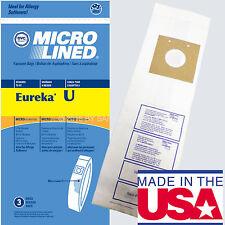 9 Eureka Bravo Style U Vacuum Cleaner Bags Microlined