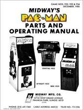 Pac-Man Arcade Operations/Service/Repair Manual/Coin Video Machine Pacman Wa