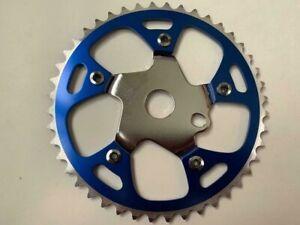 "BMX Bike Sprocket Chainring 1/8"" x 44T Steel/Alloy Lowrider Cruiser Bicycles"