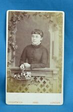 Victorian CDV Photo Carte De Visite Attractive Young Lady By Prestwich London