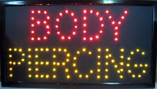 Giant Size Ultra Bright Body Piercing Neon LED Window Sign for Store Display