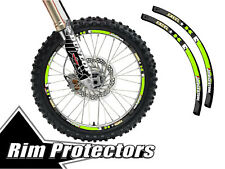 14 & 17 INCH DIRT BIKE RIM PROTECTORS WHEEL DECALS TAPE GRAPHICS MOTORCYCLE