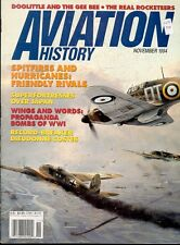 AVIATION HISTORY NOV 94 40TH BG B-29 SUPERFORTRESS RAIDS / DOOLITTLE GEE BEE 32