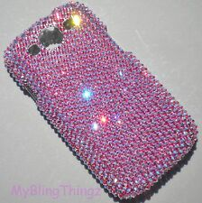 ROSE AB Crystal Bling Back Case for Samsung Galaxy S4 made w/ Swarovski Elements