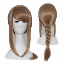 Anime How To Train Your Dragon Astrid Light Blonde Braid Cosplay Wig Y44