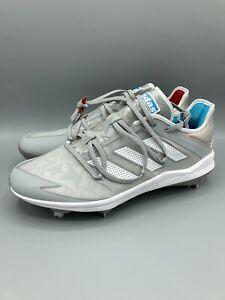 Adidas Adizero Grail 2.0 'Stars' Baseball Cleats Stone/Red Mens Size 9.5 EH2371