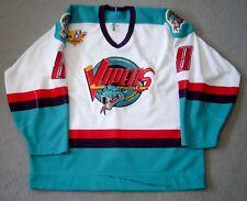 Detroit Vipers Egor Bashkatov white game jersey