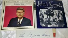 JFK: SMALL RECORD/LP COLLECTION